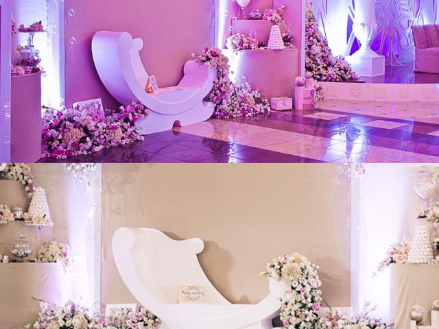 Кресло для свадебной фото зоны